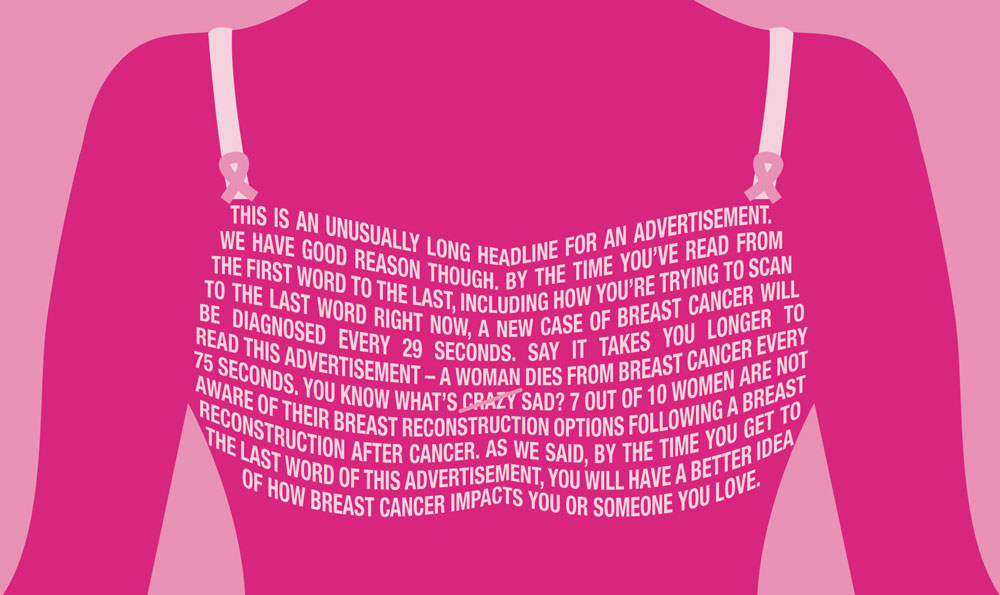 Breast Cancer Awareness Needs To Change Faculty Of Medicine